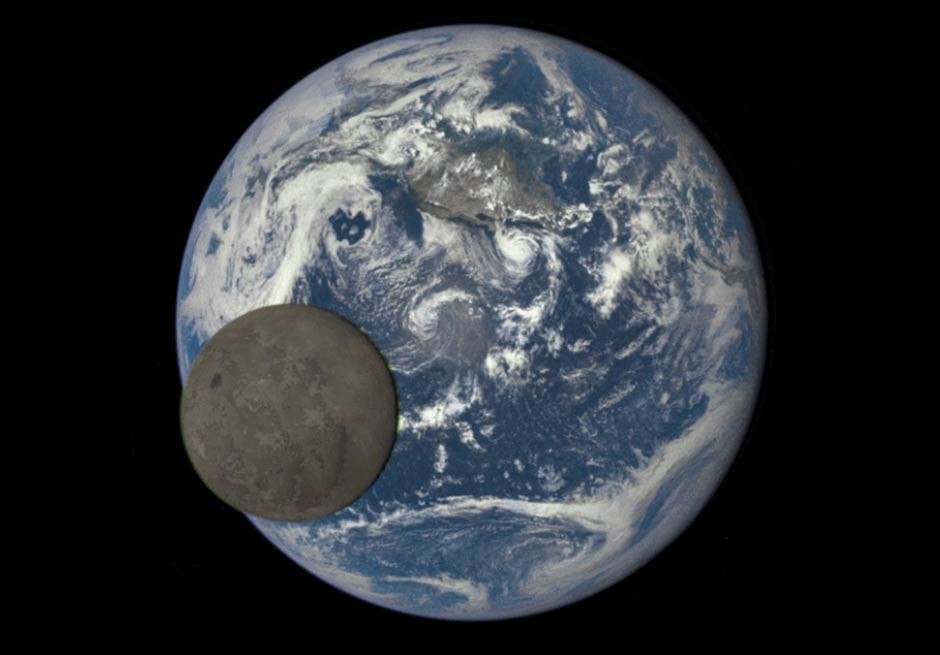 The Earth and the Moon - best telescope