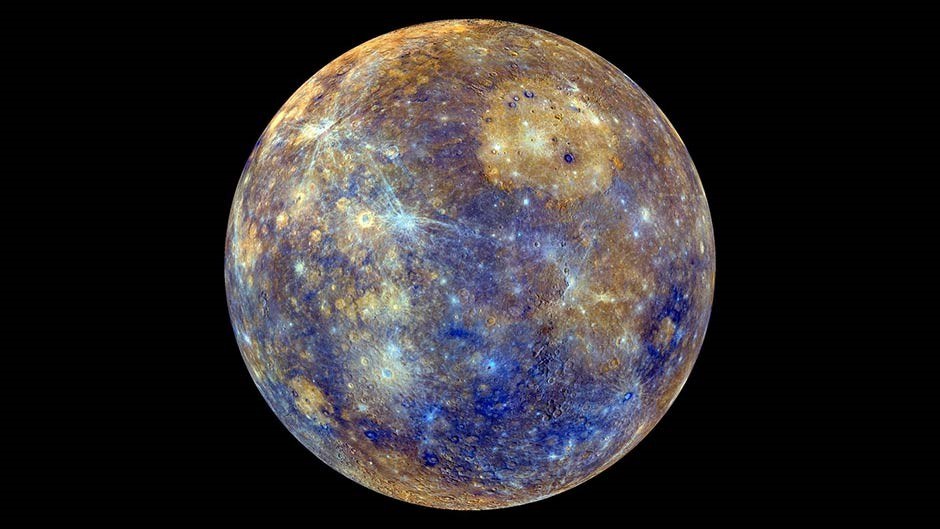 Mercury through the best telescope